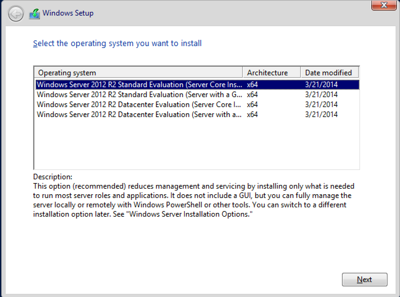How to create an automated install for Windows Server 2012 R2